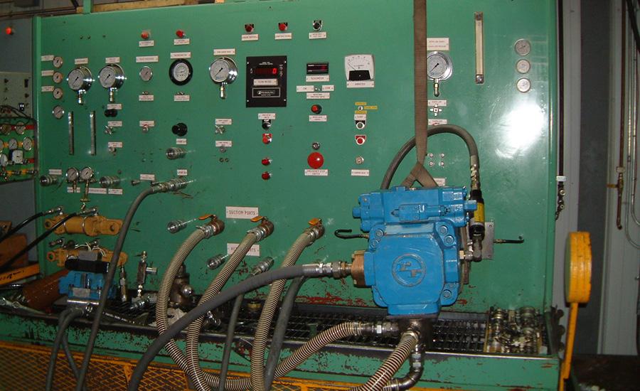 Diesel Driven Test Bench