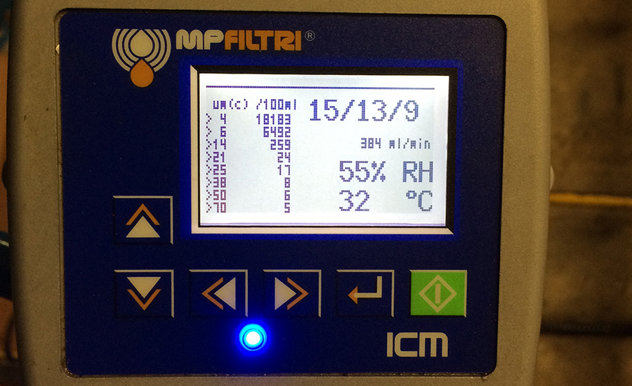 MP Filtri Contamination Monitor