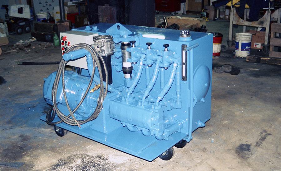 100 GPM Flushing Unit