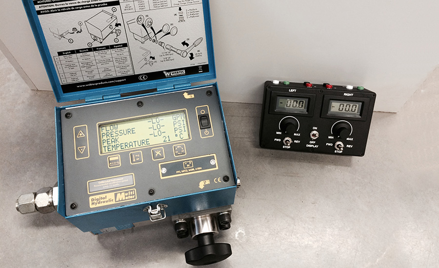 Portable Flow Tester And Valve Driver